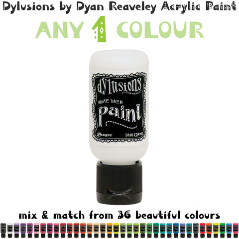 Dylusions Acrylic Paint by Dyan Reaveley - Flip Cap 1 fl oz (29ml) Bottle