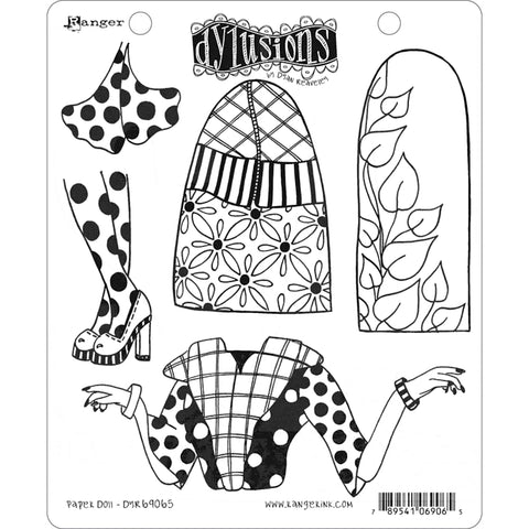 Dylusions by Dyan Reaveley - Rubber Stamps - Paper Doll
