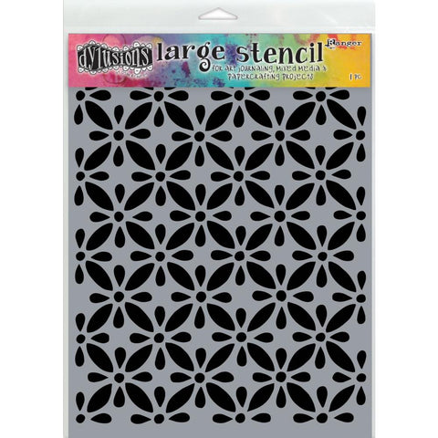 Quilt Dylusions by Dyan Reaveley Art Stencil, Large 9x12 A4