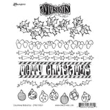 Dylusions Cling Rubber Stamps - Christmas Accessories by Dyan Reaveley