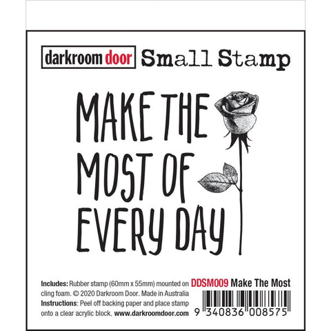 Quote Stamp, make the most of every day, by Darkroom Door