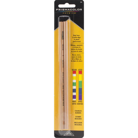 Prismacolor Premier Colorless Clear Pencils for blending, burnishing smoothing coloured pencil and pastel
