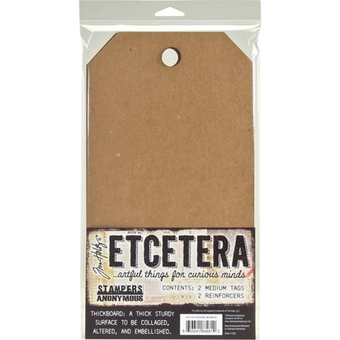 Tim Holtz Etcetera Thickboard Chipboard Mixed Media Board