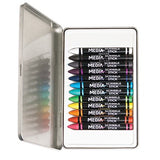 Dina Wakley Scribble Sticks - 12 Watercolours - Set 1 - Bright