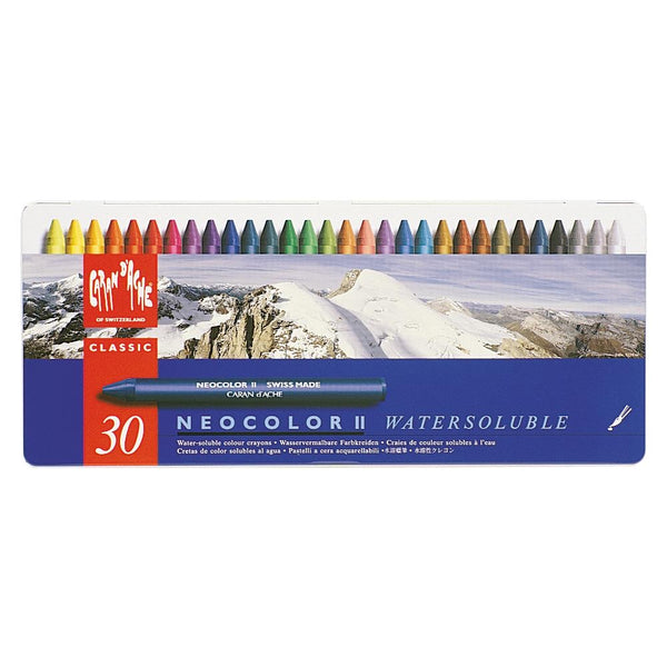 Caran D'Ache Swiss Made NeoColor Crayon Pastels now available at Art by Jenny in Australia