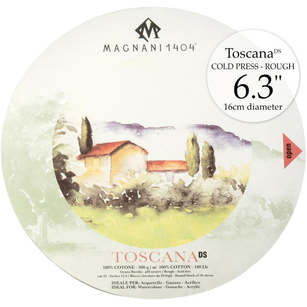 Magnani 1404 Hot Press Toscana Watercolour Paper by Legion Paper Co for sale at Art by Jenny