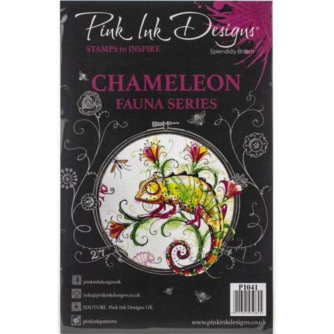 cover for the Chameleon Pink Ink Designs Stamp Set for sale at Art by Jenny in Australia