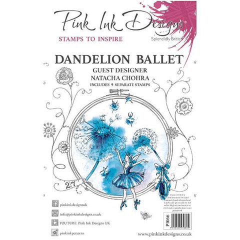 Pink Ink Designs - Stamps - Dandelion Ballet - NEW!