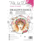 Pink Ink Designs - Stamps - Dragons Dance - NEW!