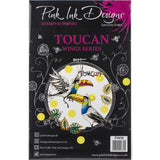 cover for the Toucan Pink Ink Designs Stamp Set for sale at Art by Jenny in Australia
