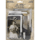 Tim Holtz Idea-Ology - Found Relatives - 45 Vintage Photos