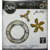 Tim Holtz Bigz Die Cutting Template by Sizzix - Steampunk Parts