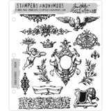 Urban Elements - Tim Holtz Cling Stamps - made by Stampers Anonymous and Art Gone Wild