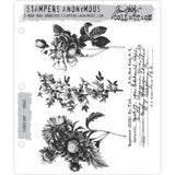 Flower Shop - Tim Holtz Cling Stamps - made by Stampers Anonymous and Art Gone Wild