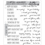 Crazy Talk ... 33 rubber stamps by Tim Holtz (cms236)