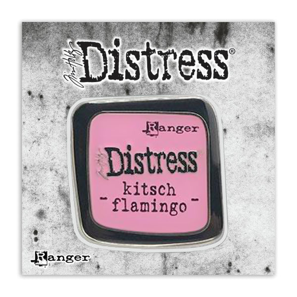 Tim Holtz Distress Enamel Collector Pin by Ranger at Art by Jenny