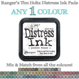 Choose any one colour of Tim Holtz Distress Ink Pads by Ranger from Art by Jenny