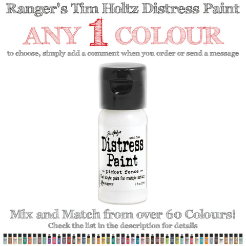 Tim Holtz Distress Paint - 1oz Bottle - Any 1 Colour