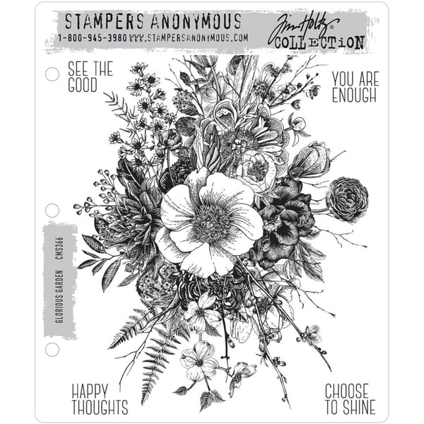 Glorious Garden by Tim Holtz and Art Gone Wild