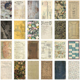 photo showing the fronts of Tim Holtz Idea-Ology Papers - Backdrops Vol 2