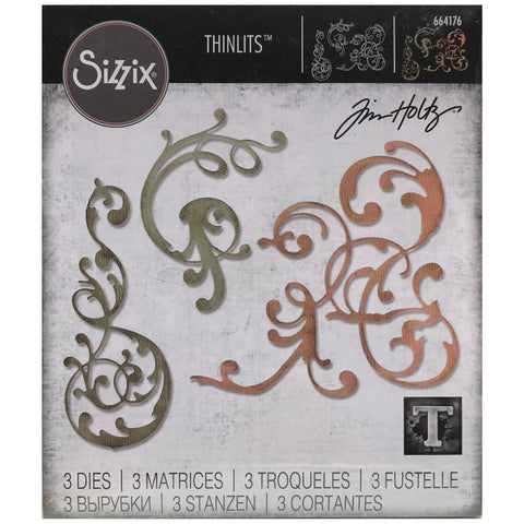 Adorned Thinlits Die Cutting Templates by Tim Holtz, made by Sizzix