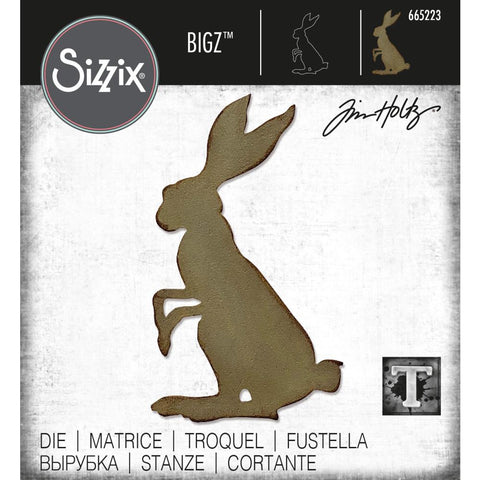 Tim Holtz Bigz Steel Die by Sizzix - Mr Rabbit - NEW!