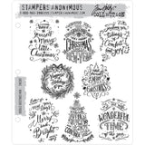 Tim Holtz Cling Stamps - Doodle Greetings Mini