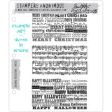 Tim Holtz Cling Stamps - Seasonal Reflections