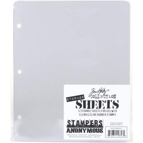 Tim Holtz - Stampers Anonymous Stamp Storage - 5 Sheets
