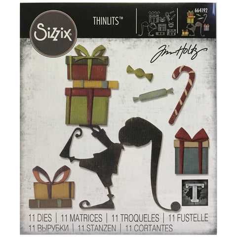 Tim Holtz Thinlits Dies by Sizzix - Santas Helper