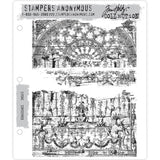 Tim Holtz Cling Stamps - Renaissance - NEW! - PreOrder Oct