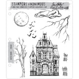 Tim Holtz Cling Stamps - Sketch Manor