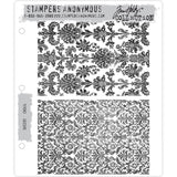 Tim Holtz Cling Stamps - Tapestry - NEW!