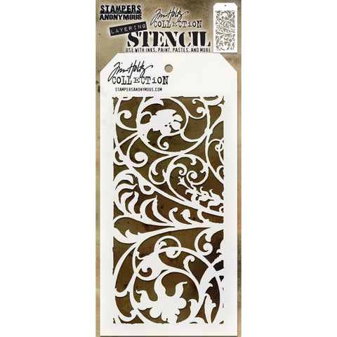Tim Holtz Layering Stencil for Inks, Paints and Mixed Media