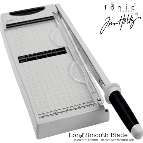 Tim Holtz Guillotine Comfort Trimmer - 12.5 inch - Maxi - Smooth Blade