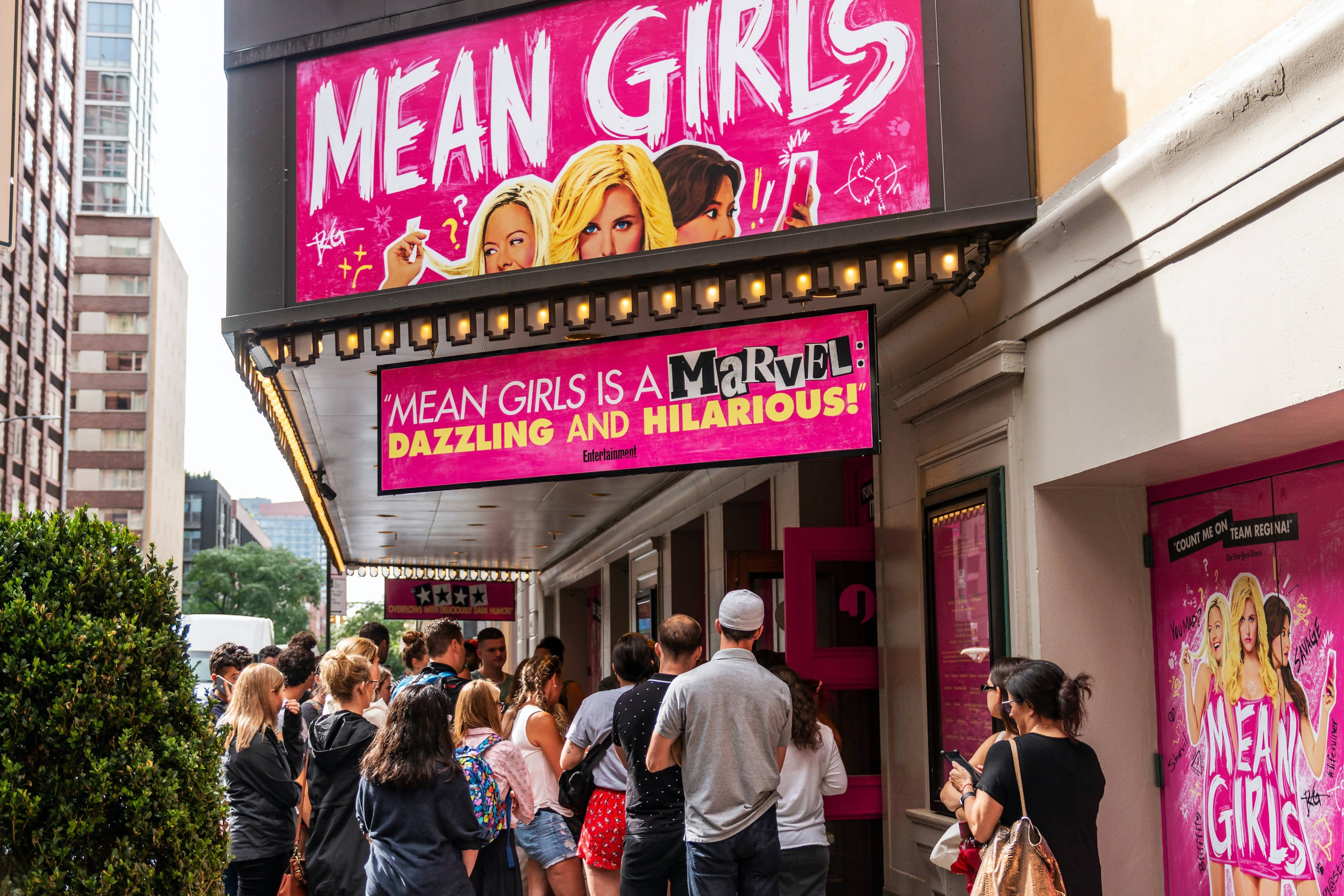 "Virtual Hangout with ""The Plastics"" from Mean Girls on Broadway"