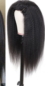 13*4/6 Brazilian Kinky Straight Wig 130% Density Remy hair wigs 8-24 Inch Natural Color Lace Front Human Hair Wigs