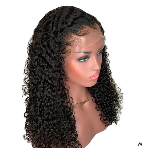 Remy Deep Curly Short Long Real Human Hair Wigs 13x4 Lace Front Wigs With Baby Hair For Black Women 150% Density Pre Plucked