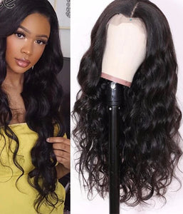13X4/6 Transparent Lace Wigs With Baby Hair Body Wave Invisible Lace Front Human Hair Wigs Pre-Plucked Lace Wigs