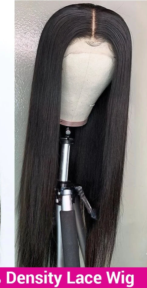 Lace Front Human Hair Wigs 180 250 Density Brazilian Lace Front Wig Straight Human Hair Wigs Remy 360 Lace Frontal Wig