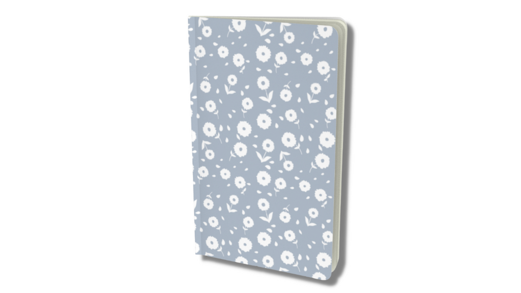 floral blooms notebook