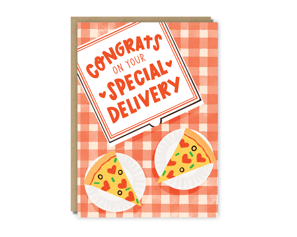 congrats on your special delivery card
