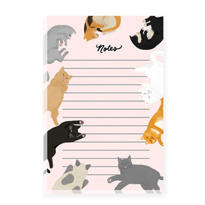 cats notepad