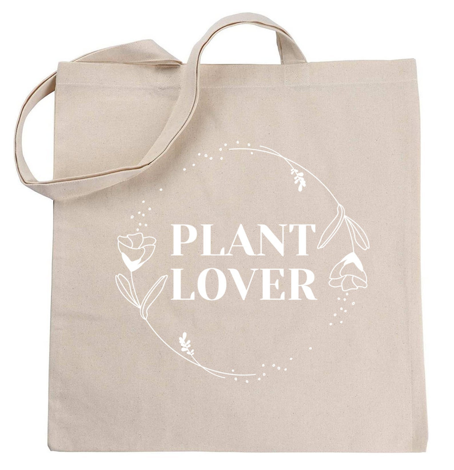 plant lover tote bag