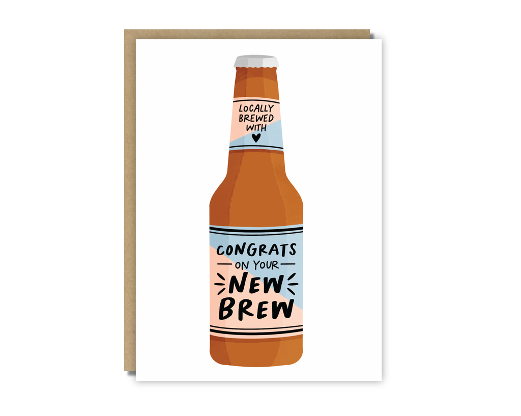 congrats on your new brew card