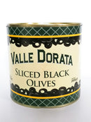 Valle Dorata - Black Sliced Olives 1300g net - The online warehouse