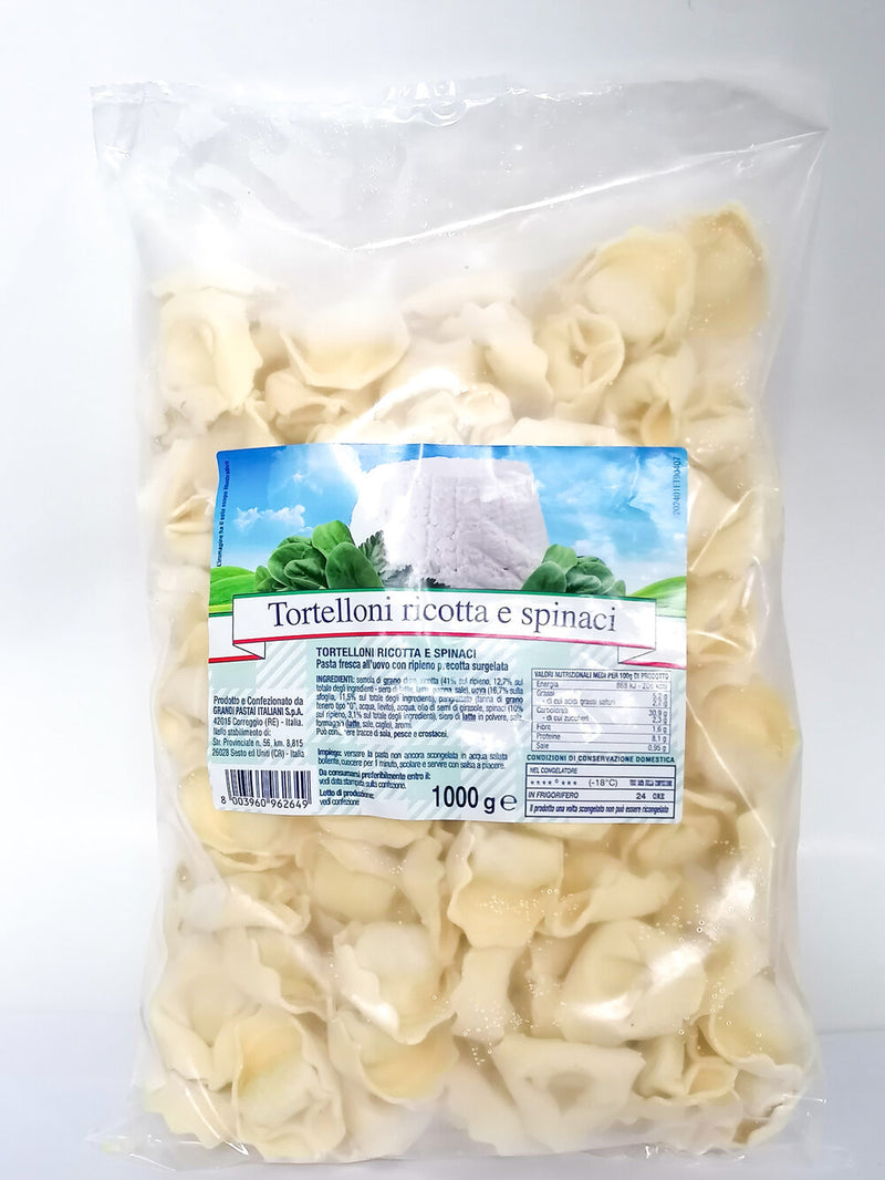 Tortellini Ricotta Spinaci  1kg - The online warehouse