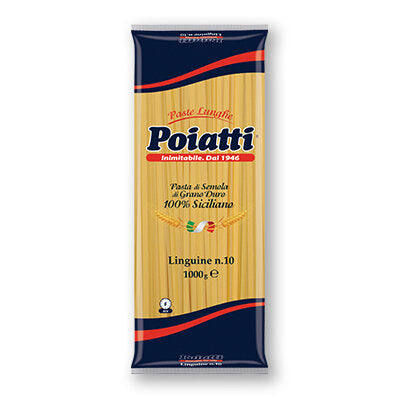 Poiatti - Linguine  1kg                       No.10 - The online warehouse