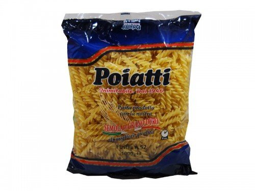 Poiatti - Fusilli   1kg                             No. 52 - The online warehouse