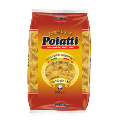 Poiatti - Farfalle 500g                      No.82 - The online warehouse